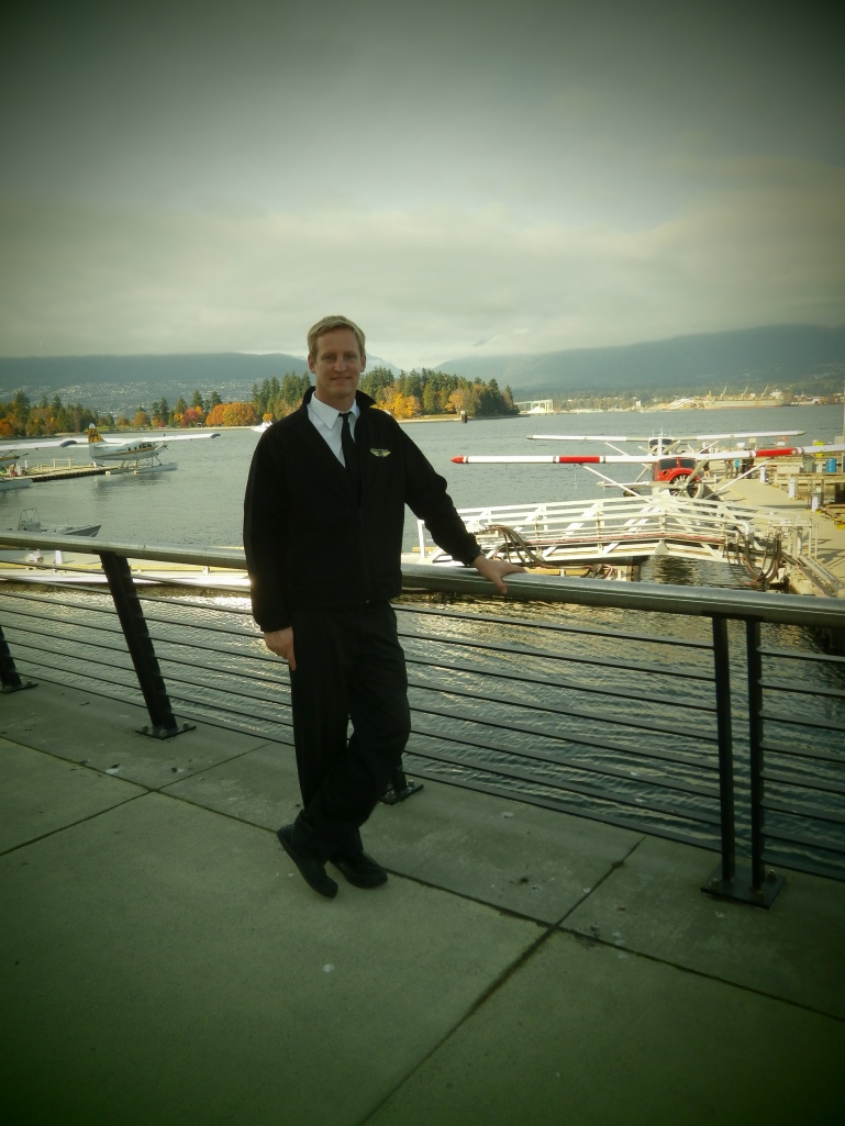 Pilot John Ferguson at Coal Harbour