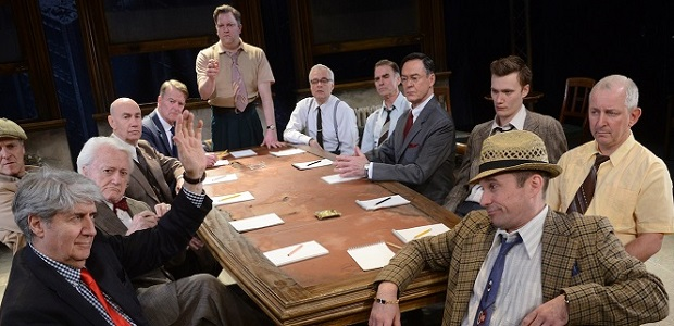 Twelve Angry Men (c) Garrick-theatre.co.uk