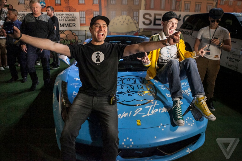 Tory Belleci and Deadmau5 are eager to participate again next year! (c) Theverge.com