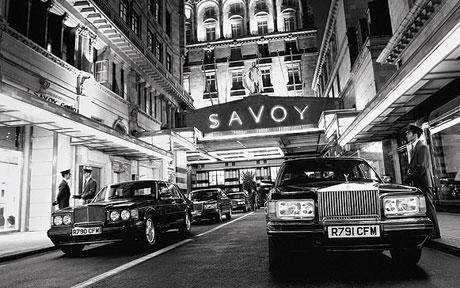 The infamous Savoy Hotel (c) Telegraph.co.uk