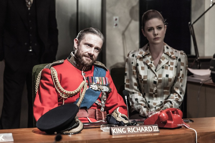 Richard III - Martin Freeman and Lauren O'Neil - Photo Marc Brenner.jpg Emma Holland PR emma@emmahollandpr.com georgie@emmahollandpr.com