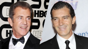 The best characters of the Expendables 3 - Mel Gibson and Antonio Banderas (c) Variety.com