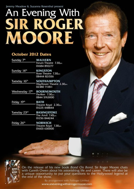 An Evening With Sir Roger Moore (c) Pollingerltd