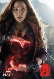 Elizabeth Olsen as the Scarlet Witch (c) Cinemablend.com