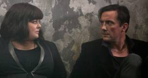 Melissa McCarthy and Peter Serafinowicz in Spy (c) Independent.co.uk
