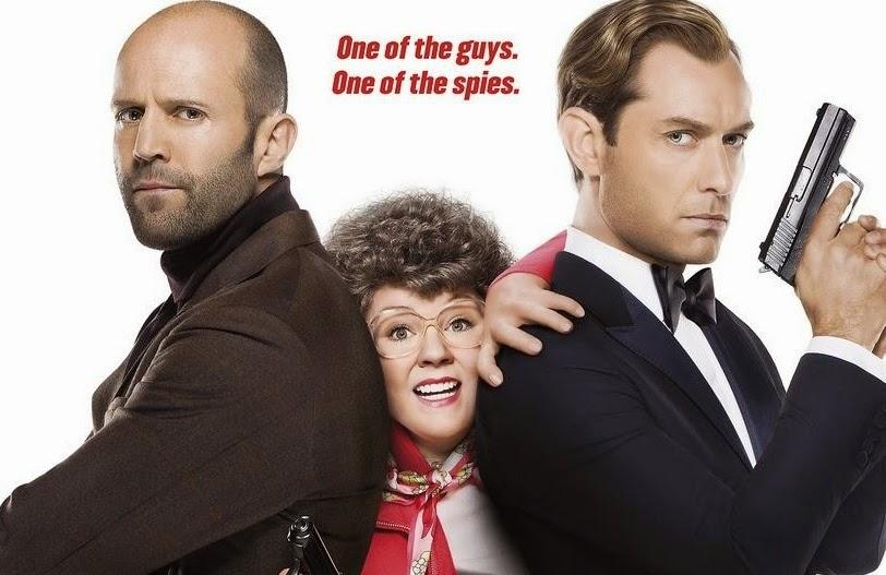 Jason Statham, Melissa McCarthy and Jude Law star in Spy (c) Bartable.bart.gov
