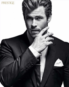 Australian actor Chris Hemsworth as the new James Bond? (c) Glamourland.tv