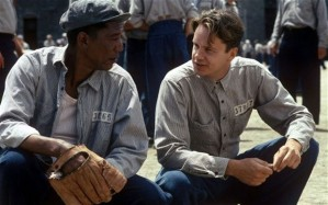 Morgan Freeman and Tim Robbins in The Shawshank Redemption (c) Telegraph.co.uk