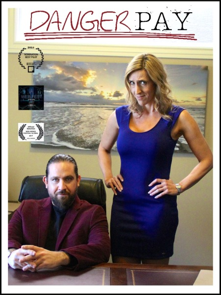 Danger Pay - actors Carolyn Bridget Kennedy and Brent McIntosh.