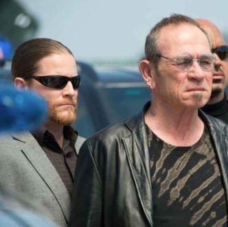 Damian Mavis plays Tommy Lee Jones's bodyguard in Mechanic: Resurrection (c) Summit Entertainment