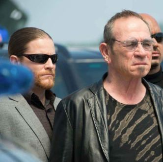 Damian Mavis plays Tommy Lee Jones's bodyguard in Mechanic: Resurrection (c) Summit Entertainment